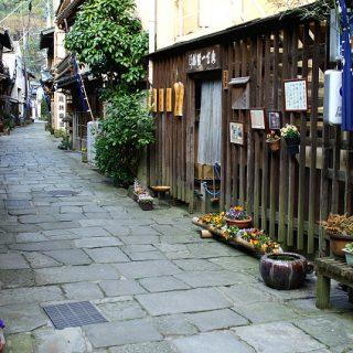 写真:青石畳通り(1)